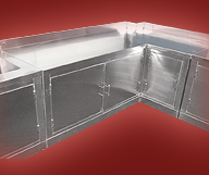 L – Shape Cabinet